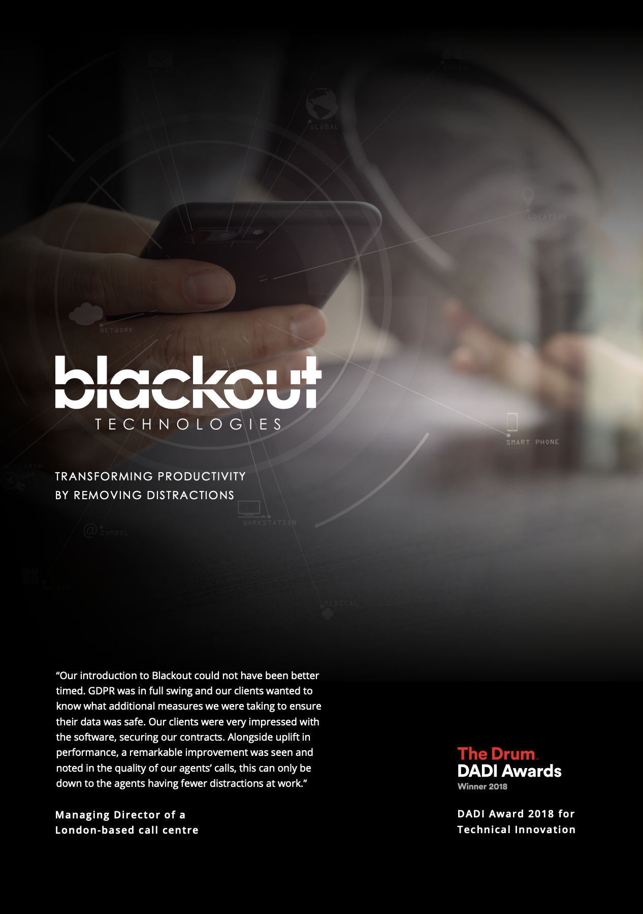 Blackout Technologies Productivity Study